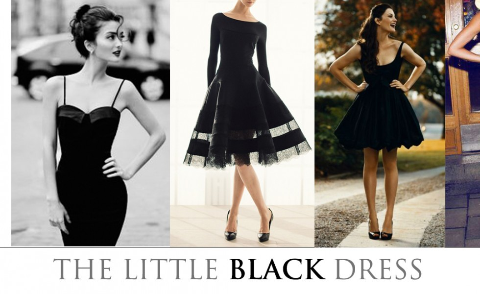 Almost Time for the Little Black Dress